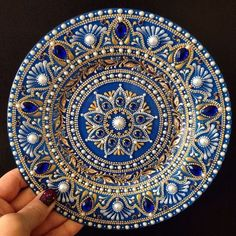 1 million+ Stunning Free Images to Use Anywhere Mandala Art, Mandala Rocks, Mandala Drawing, Mandala Painting, Mandala Design, Hand Painted Dishes, Painted Plates, Free To Use Images, Dot Art Painting