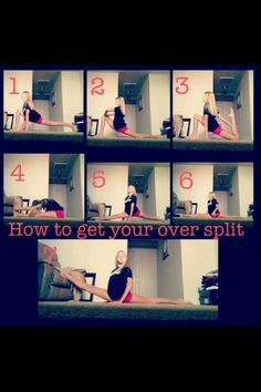 Oversplit Tips! This will help! To get your oversplits faster check out ERICA LIN on YT