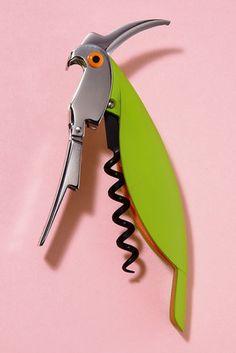 Alessi's Parrot Sommelier Corkscrew
