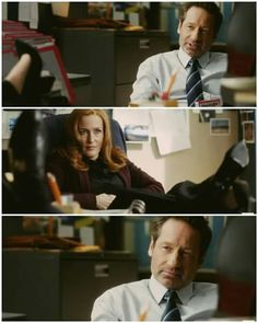 C'mon Scully! It's like a date.