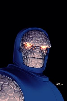 Darkseid by Nick Derrington. Comic Book Artists, Comic Book Characters, Marvel Characters, Comic Character, Comic Books Art, Comic Art, Comics Anime, Dc Comics Art, Marvel Dc Comics