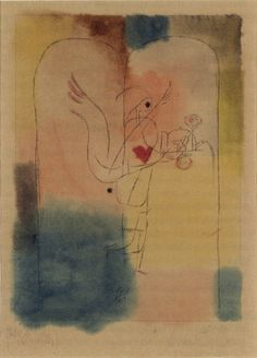 A Genius Serves a Small Breakfast - Paul Klee Paintings Paul Klee Engel, Paul Klee Artwork, Free Canvas, Stick Figures, Wassily Kandinsky, Oil Painting On Canvas, Color Theory, Les Oeuvres, Contemporary Art