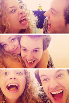 Carrie Fletcher & Alex Day I think they're just best friends, but they would be so cute together...