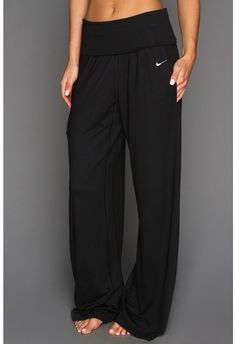 Nike Ace Wide Yoga Pants... Cute + Comfy