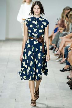 Olivia Palermo's #NYFW Pin Picks: Bright and cheery for Michael Kors SS '15.