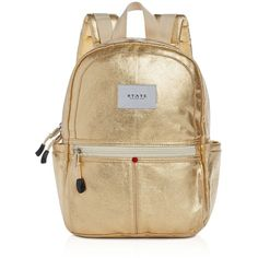 State Downtown Kane Mini Metallic Backpack (2,920 PHP) ❤ liked on Polyvore featuring bags, backpacks, daypack bag, american bags, american backpack, brown bag and mini bags
