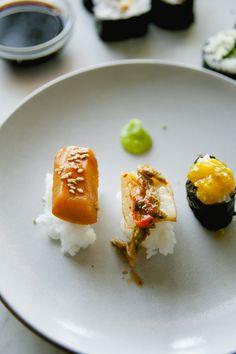 VEGAN SUSHI - The Kitchy Kitchen