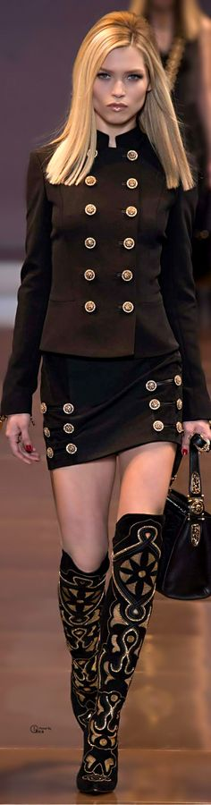 Versace ●  ~Latest Luxurious Women's Fashion - Haute Couture - dresses, jackets. bags, jewellery, shoes etc