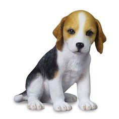 Beagle Puppy Sculpture