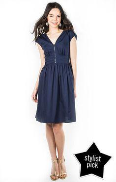 Zip Code Dress - Peacoat $39.99        Downeast