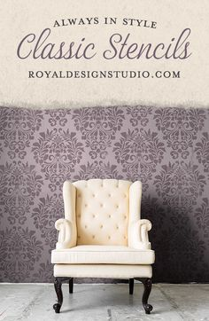 658 best wall furniture stencils images in 2019 royal design rh pinterest com