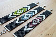 Friendship Bracelet // Boho Cuff // Hippie // Adjustable by Gomeow, $28.95