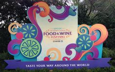 What are YOUR Food & Wine plans?