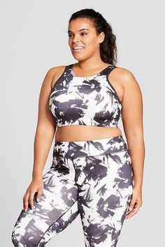 bd1a303a1f5 18 Cute and Comfy Activewear Pieces For Curvy Girls Everywhere. Workout TopsPlus  Size ...