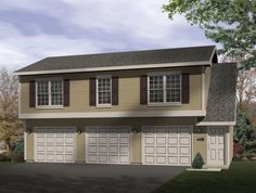Garage plans on pinterest garage plans garage Hillside garage plans