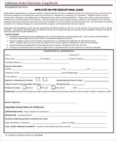 Application For Leave Form 19 Salary Certificate Formats  Word Excel & Pdf Templates  Www .