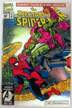Spectacular Spider-Man #200 Death of Green Goblin Marvel Comics (1993) FREE Shipping -- Cover Art : Sal Buscema -- Grade : VF/NM to NM $5.50