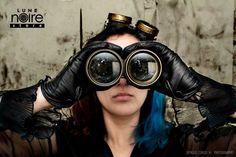 steampunk steamgoth goggles  bijouterie handmade