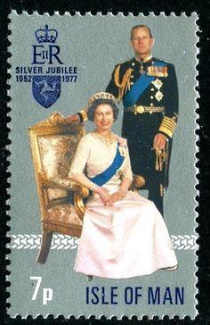 1977 Silver Jubilee 7p