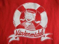*Küstenmädel* maritimes Kindershirt Segeln Törn  von Küstenmädel auf DaWanda.com