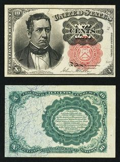 Fr 1265 10 Fifth Issue Extremely Fine About New Robert J