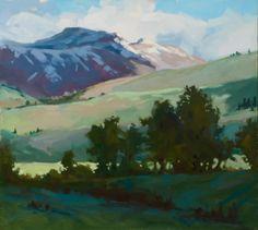 'Snow Field Summer'...Darrell Anderson