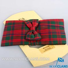 MacKintosh Tartan Cummerbund Set