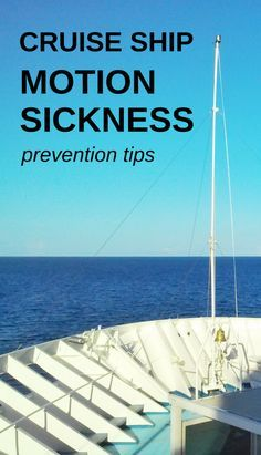 For a motion sickness remedy and prevention tips when you travel, here are a few essentials to know. It includes seasickness food remedies, bracelet or band, a patch, and even the location of your cruise ship room can make a difference in feeling nausea and seasick symptoms. If motion sickness medicine is your last resort, these are some things to try first for relief or as a cure.