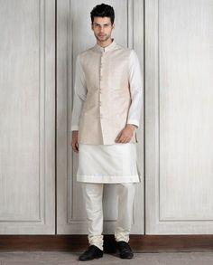Soma Sengupta Fashion for the Indian Man- Minimal White!