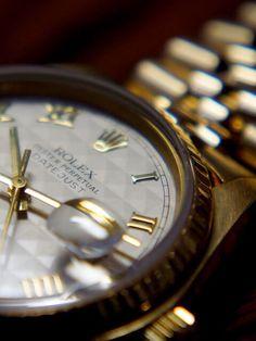 Golden Datejust #rolex #datejust #golden #vintage #gentleman #luxury #watch