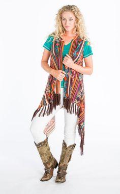 Double D Cusco Vest - Ya Ya Gurlz