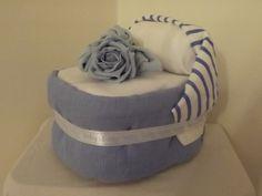 Moses Basket Nappy Cake