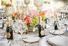 Elegant Gold Wedding Table