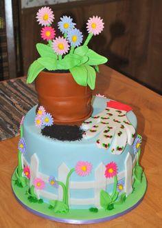 Hope's Sweet Cakes: Flower Pot Cake