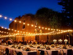 Barnsley Gardens Outdoor Reception
