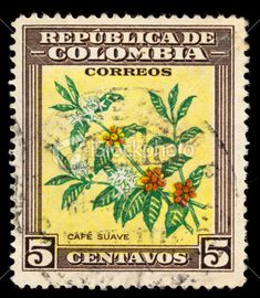 Republica de Colombia - Cafe Suave - Cinco Centavos