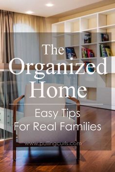 An organized home isn't just books sitting nicely on a shelf. It's so much more…