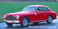 1950 Ferrari 195 Inter Ghia Coupe
