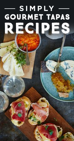 Girls night in calls for an array of #tapas. Add decadence with a few delicious Castello cheeses and gourmet pairings. Find the recipes here.
