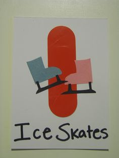Little Family Fun: I is for ICE SKATES