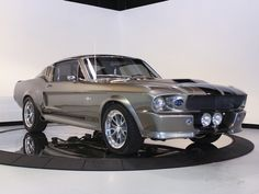 The 1967 shelby gt500. Most commonly known for it's role with Nicholas Cage in Gone in 60 seconds. This beaut is most definitely my dream car. I'll probably never own this car, but I'll certainly be the proud owner of a 60's era later in life!