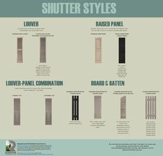 Shutter Styles | Rempfer Construction, Inc.