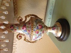 French vintage lamp