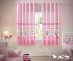 Ninguém resiste aos produtos da Penélope Charminho da Döhler Têxtil! #cortina #rosa #penelopecharmosa #penelope #charminho #quarto #decor #decoracao #dohler