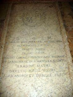 Lucrezia Borgia - Italian Aristocracy. She was the daughter of Pope Alexander VI and Vannozza dei Cattanei. Her brothers included Cesare Borgia, Giovanni Borgia, and Gioffre Borgia.