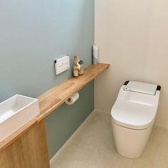 いいね!244件、コメント18件 ― Hanaさん(@pikake087)のInstagramアカウント: 「* 現在の我が家の1Fトイレ 結構広めにとりました! 洗面台はサンワカンパニーのレプト。 スッキリしていてお気に入りです♪(写真2枚目) 広すぎて始めは落ち着かなかったけど^^;今は快適です♪♪…」