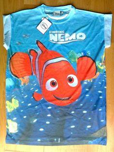 Disney Finding Nemo T Shirt UK 6-20 Primark Tee top Womens Ladies   eBay
