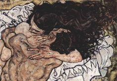 'Egon Schiele - The Embrace Samsung Galaxy Case/Skin by bestartists The Embrace, Greek Art, Gustav Klimt, Art Sketchbook, Erotic Art, Aesthetic Art, Oeuvre D'art, Art Inspo, Art History
