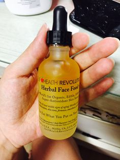 herbal face food, 100% organic serum from the us. started lately. after 5 secs after applying it, skin starts burning and gets red... (im really not sure if this is good for skin later on) but at least now, i could recognize my skin's getting better only in a few days. would use this for 35 days(as they recommend).