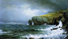 William Trost Richards Ocean Art | William Trost Richards